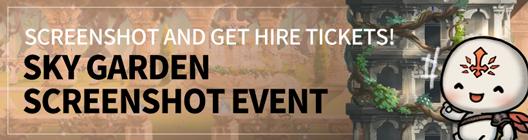 Lucid Adventure: ◆ Event - Screenshot and GET Hire Tickets! Sky Garden Screenshot Event image 1