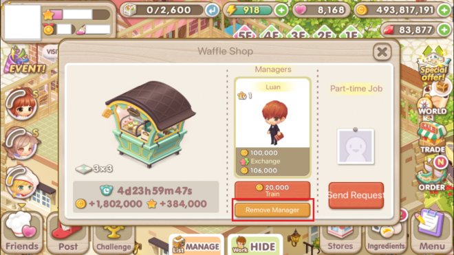 """My Secret Bistro: ● FAQ - [FAQ] Learn more about the Income Decor """"Manager"""" Feature! image 35"""