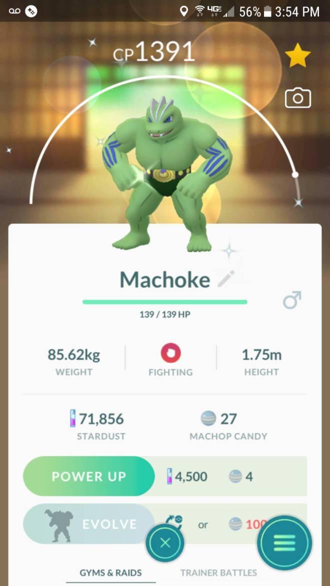 Pokemon: General - Just evolved my machop shiny! image 2