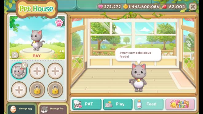 My Secret Bistro: ● FAQ - [FAQ] New <Pet> system update image 27