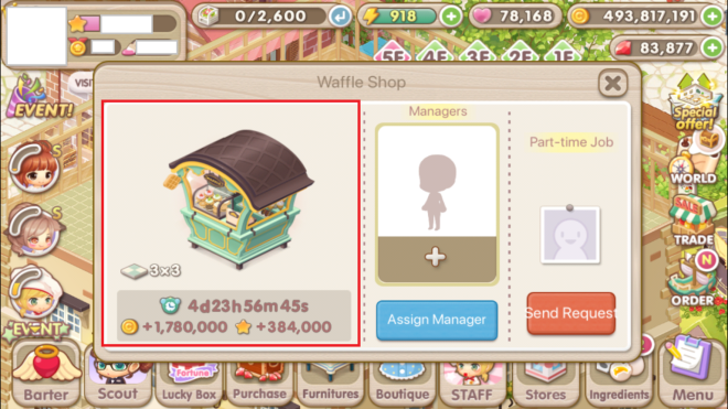 """My Secret Bistro: ● FAQ - [FAQ] Learn more about the Income Decor """"Manager"""" Feature! image 10"""