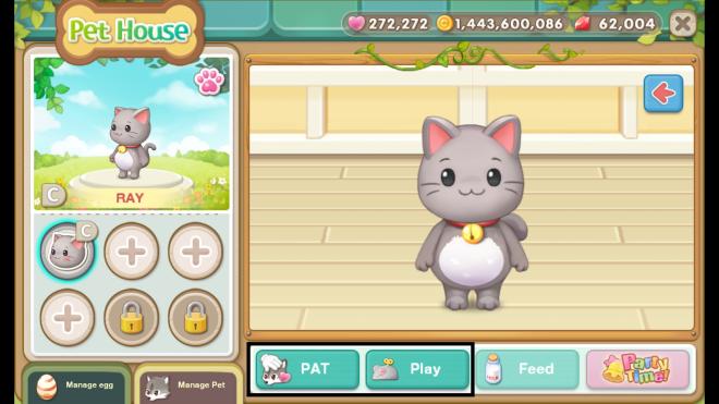 My Secret Bistro: ● FAQ - [FAQ] New <Pet> system update image 31