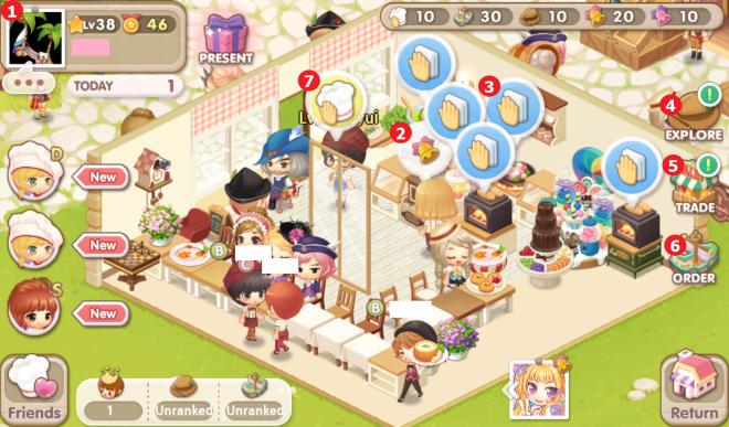 My Secret Bistro:  - Beginner's Guide - 9. Market Stand & Social Activities image 6
