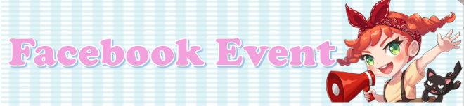 My Secret Bistro: ● Facebook Notice / Events - 😍Like & Following Event!😍 image 1
