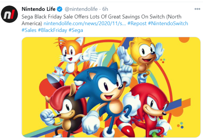 Off Topic: General - If anyone wants to play Sonic on Switch :) image 1