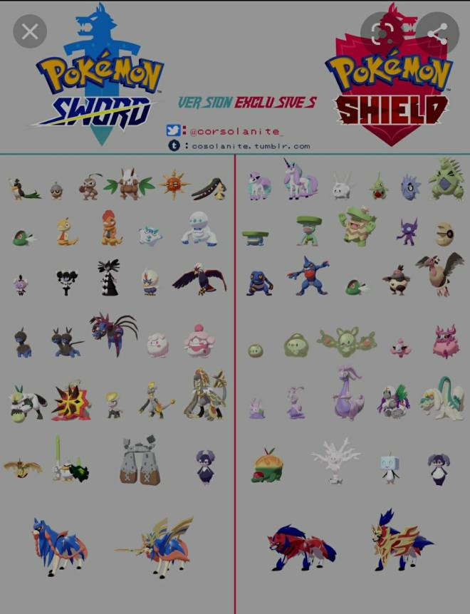 Pokemon: Trading - Looking to trade my pokemon sword exclusives for someone's shield exclusives in order to complete po image 3
