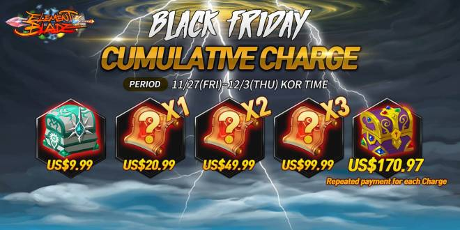 Element Blade: Event - Black Friday Event image 3