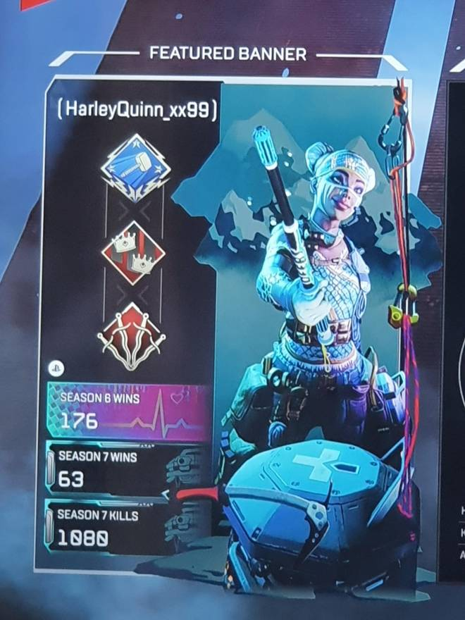 Apex Legends: Looking for Group - Looking for some chill people to play with. No toxicity. Preferably 18+. LIFELINE main. Gold 1 rank. image 3