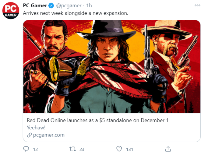 Red Dead Redemption: General - Looking Forward? image 1