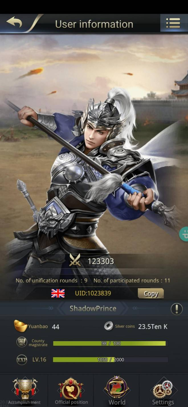 Three Kingdoms RESIZING: Join & Greeting Board - New here image 2