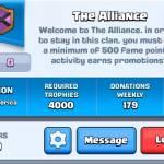 The Alliance clan
