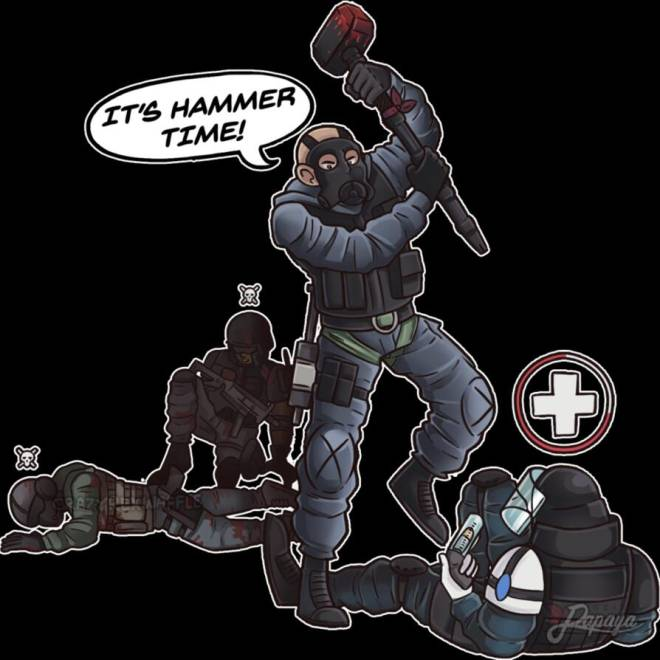 Rainbow Six: Memes - Not Now Gustave image 1