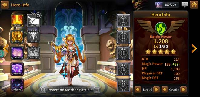 Along with the Gods: Knights of the Dawn: Tips and Guides - Hero Spotlight: Patricia image 6