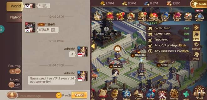 Kingdoms M: Chatting Certification Event - Go go go vip 5 image 4