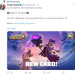 New Card on the way!