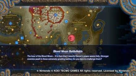 The Legend of Zelda: General - Recommended Blood Moon Battlefields to farm weapons image 1