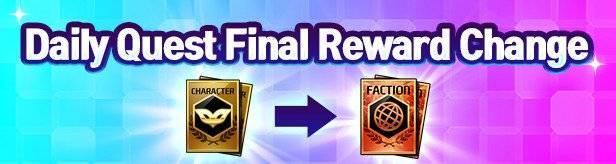 Noblesse:Zero: Events - [Event] Daily Quest Final Reward Change                         image 1