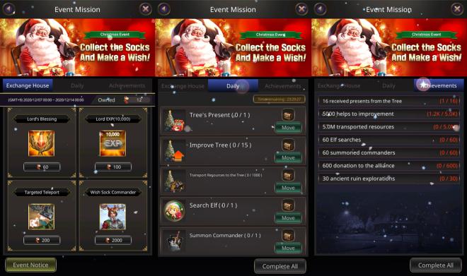 VERSUS : REALM WAR: Announcement - Christmas Event Notice image 3