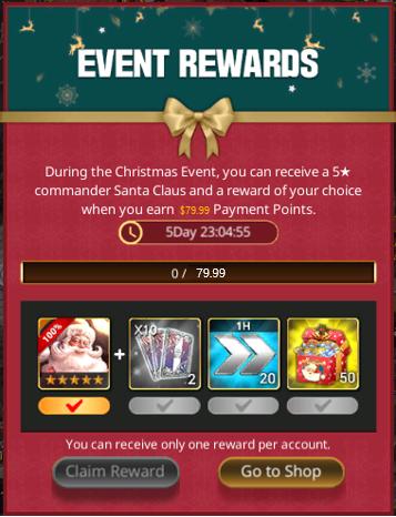 VERSUS : REALM WAR: Announcement - Christmas Event Notice image 14