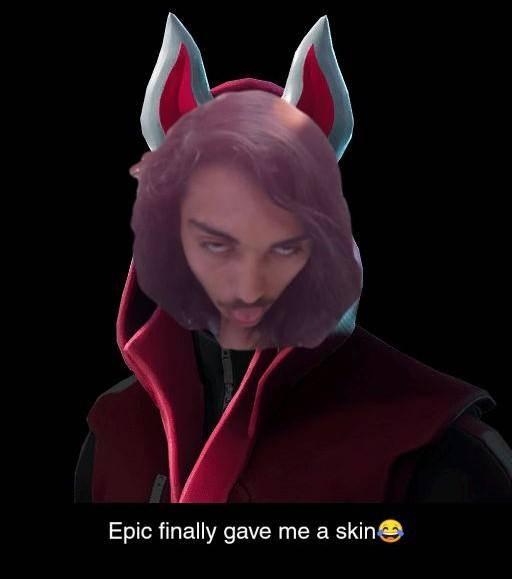 Fortnite: Memes - Epic Finally Gave Me A Skin image 2