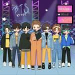 BTS Anpanman Stage