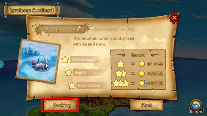 Element Blade: Event - Stage Ranking Season.3 - Snowflake of Mountain image 5