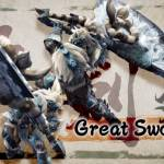 MH Rise Great Sword play video