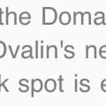 They finally fixed Dvalin's neck