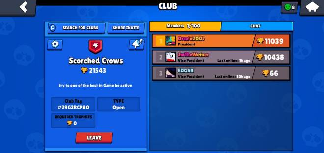 Brawl Stars: General - Look for people to join my club be active  image 2
