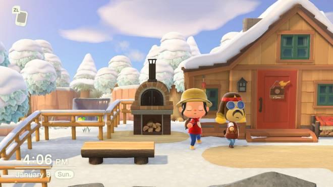Animal Crossing: Posts - Doin yoga with Harvey :)  image 4