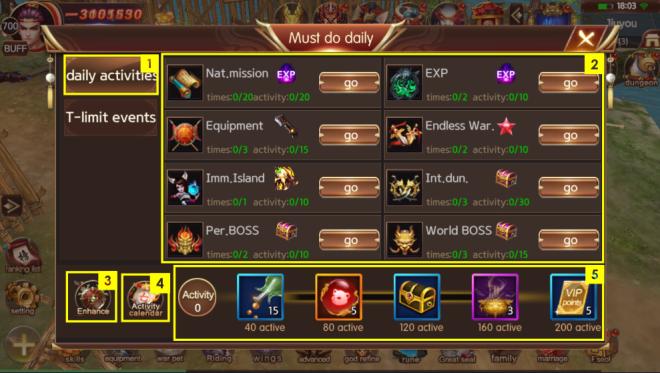 斬魔:破壞之刃: Guide - 每日必做 image 1