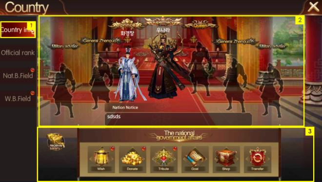 斬魔:破壞之刃: Guide - 國家 image 1