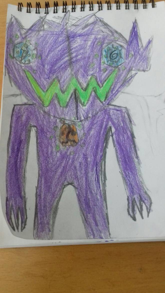 Pokemon: General - Sableye and spiritomb fusion image 2