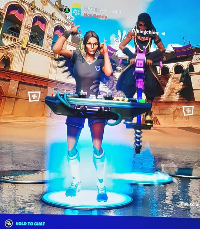 Fortnite: Looking for Group - Me and my freind harvey want 2 gamer girls to play with us were 2 sweaty controller players with ove image 3