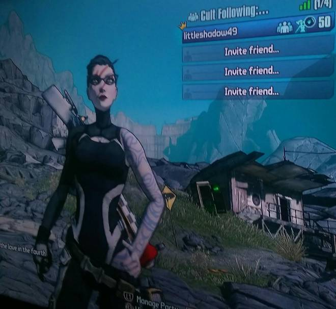 Borderlands: General - Any Level 80 on borderlands 2 willing to grind Pete's bar with me? (PS4) image 1