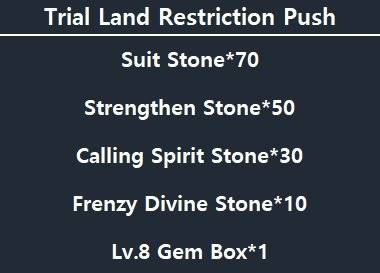 ATK CHALLENGER: Notice - [Notice] Restricts Trial Land Temporarily - Be Opened at 18:05 UTC +9 image 7