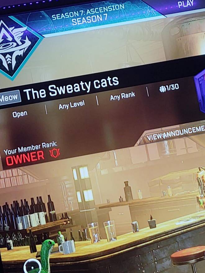 Apex Legends: General - Join the the sweaty cats image 1