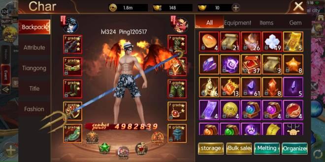 ATK CHALLENGER: Fire Dance Certification - Server 277 G70 IGN:Ping120517 image 1