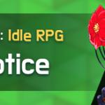 Notice 1/25 (UTC-8)