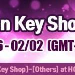 XP Potions on Key Shop!