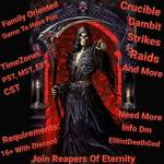 Ps4 You Looking to join a clan? Crucible, gambit, raids? Join Reapers Of Eternity