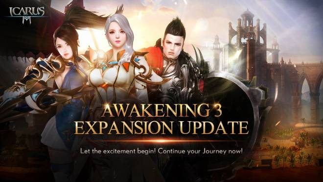 Icarus M: Riders of Icarus: Notice - Awakening 3 Expansion Update image 2