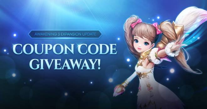 Icarus M: Riders of Icarus: Event - Coupon Giveaway - Awakening 3 Expansion Update image 3