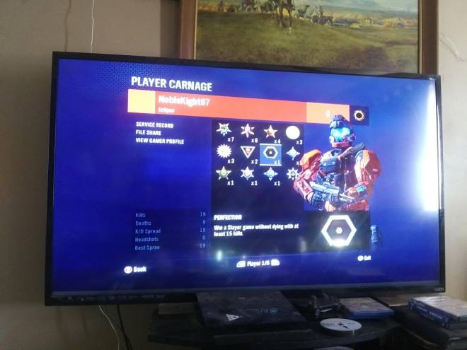 Halo: General - My second perfection medal. Have you earned any? Comment below 😊 image 1