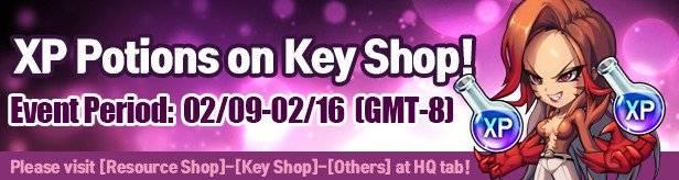 Noblesse:Zero: Events - XP Potions on Key Shop!                         image 1