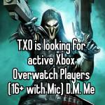 Looking for Group #Xbox #Casual