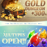 [EVENT] Monthly Special - Gold Dungeon +300% & All Type Dungeons Open