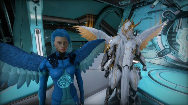 Warframe: General - I love these new wings lol image 2