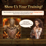 🎉Event. Show Us Your Training!