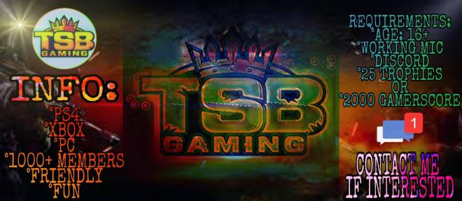 Rocket League: Looking for Group - Hello! TSB Is recruiting! We are a friendly gaming community spreading across Xbox PS4 and PC. We ar image 3